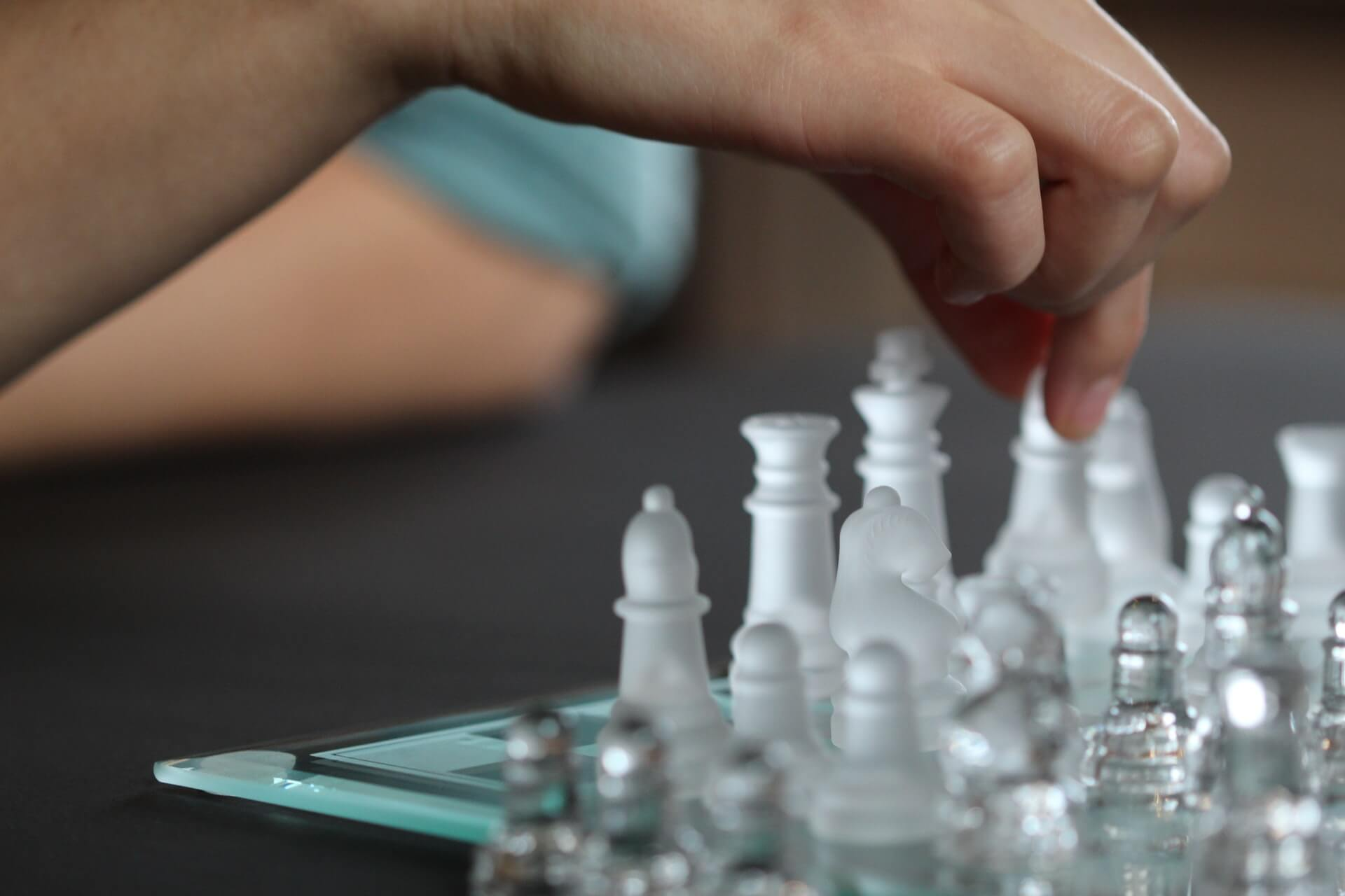 Every office department's favourite thing about never going to the office again - person playing chess