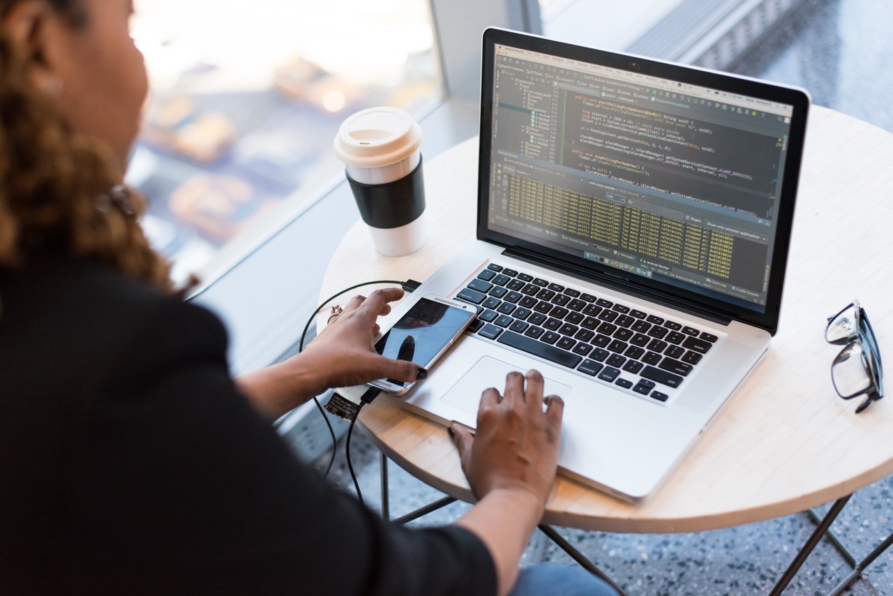 Azure and WVD: the ideal hosted virtual desktop solution in the cloud - power user coding on a laptop via Azure Virtual Desktop
